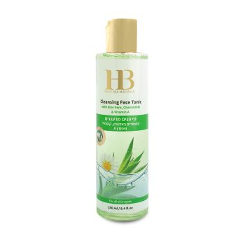 new Cleansing Face Tonic with Aloe Vera Chamomile & Vitamin A