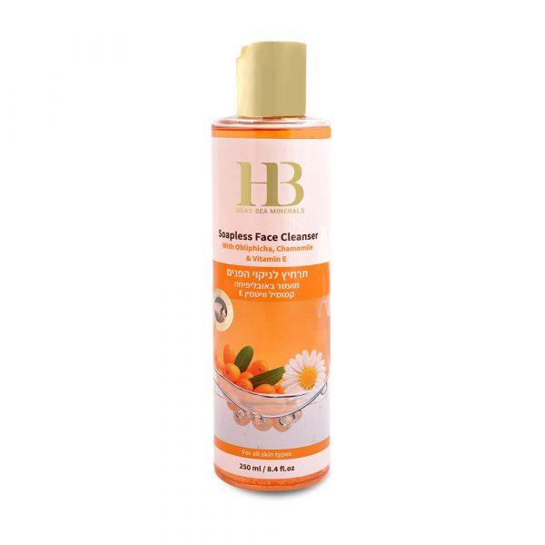 new Soapless Face Cleanser with Obliphicha, Chamomile & Vitamin E