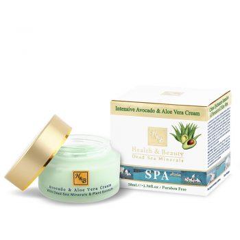Crème intensive pour le visage à l'avocat et à l'aloès - 50ml / 1.76 fl.oz