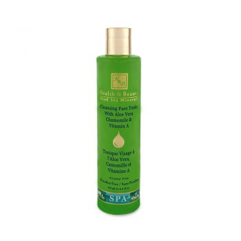 Tonique Visage à l'Aloe Vera, Camomille et Vitamine A - 250ml / 8.4 fl.oz