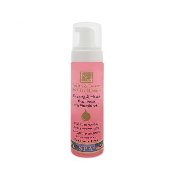 Cleansing & Relaxing Facial Foam - 225ml / 7.6oz