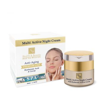 Multi-Active Night Cream With Hyaluronic Acid and Caviar Extract - 50ml / 1.76OZ