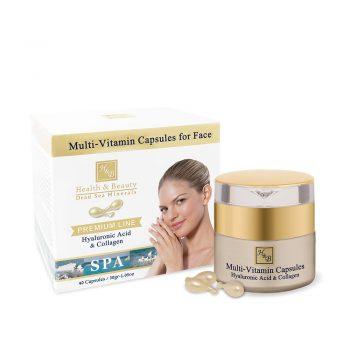 Capsules multi-vitamines pour le visage