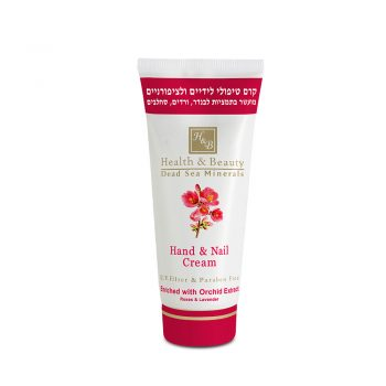 Hand & Nail Cream enriched with Orchid Extract - 180 ml / 6.12 FL.OZ
