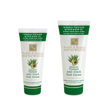 Intensive Treatment Anti-Crack Foot Cream Enriched with Avocado Oil & Aloe Vera
