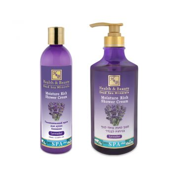 Moisture Rich Shower Cream Lavender