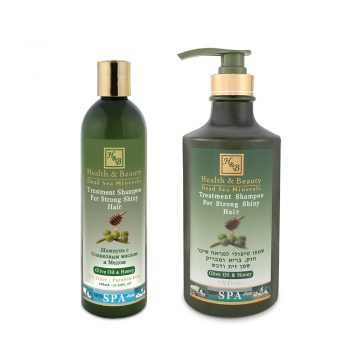 Olive Oil & Honey Shampoo for Strong Shiny Hair