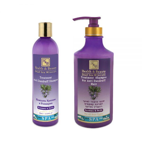 Shampoo anticaspa de Romero y Ortiga