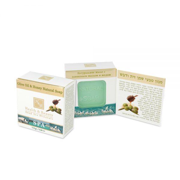 Натуральное мыло с оливковым маслом и медом