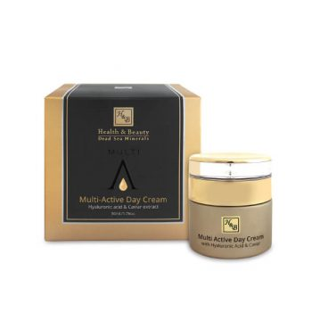 Multi-Active Day Cream With Hyaluronic acid and Caviar extract