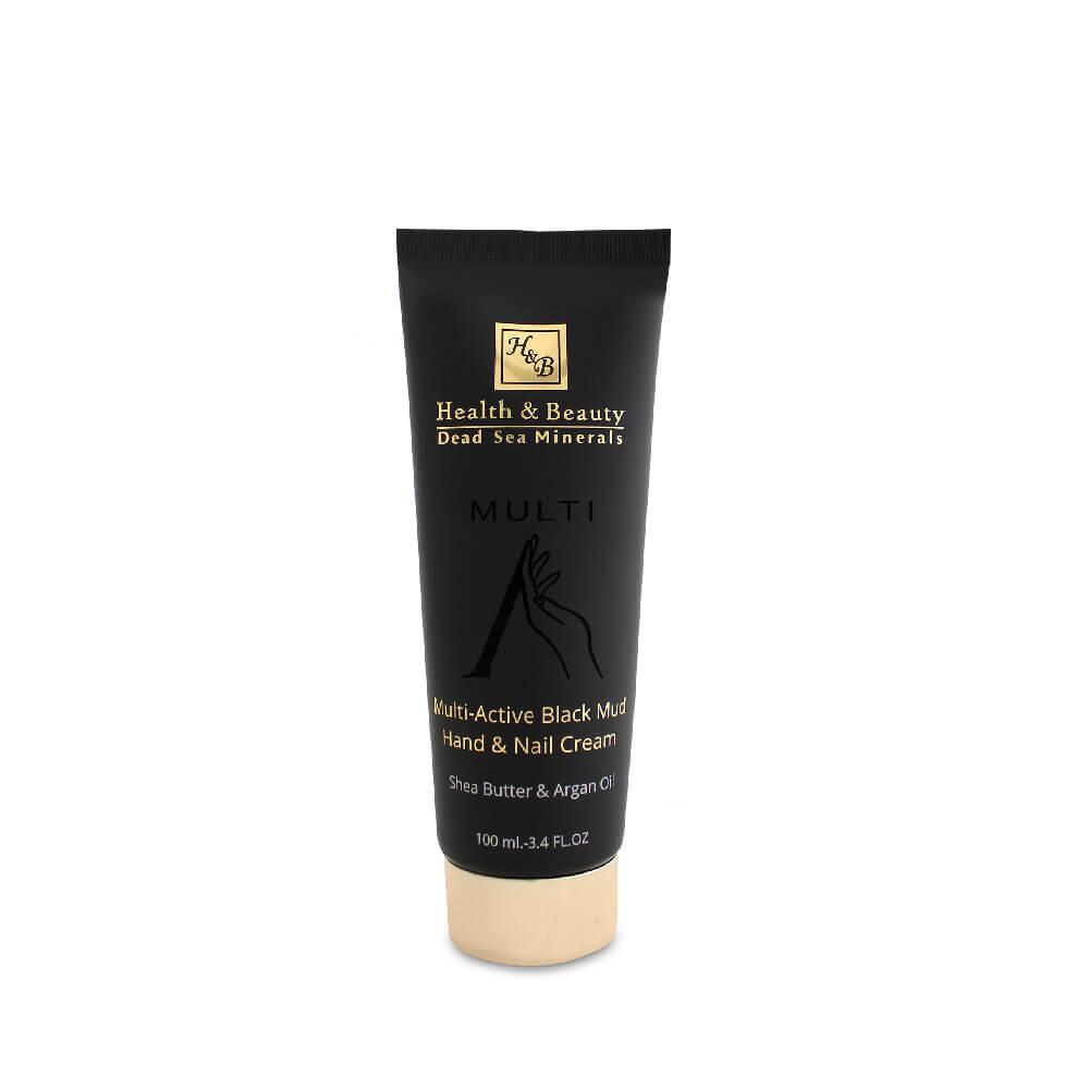 Crema Multiactiva de manos y uñas de barro negro