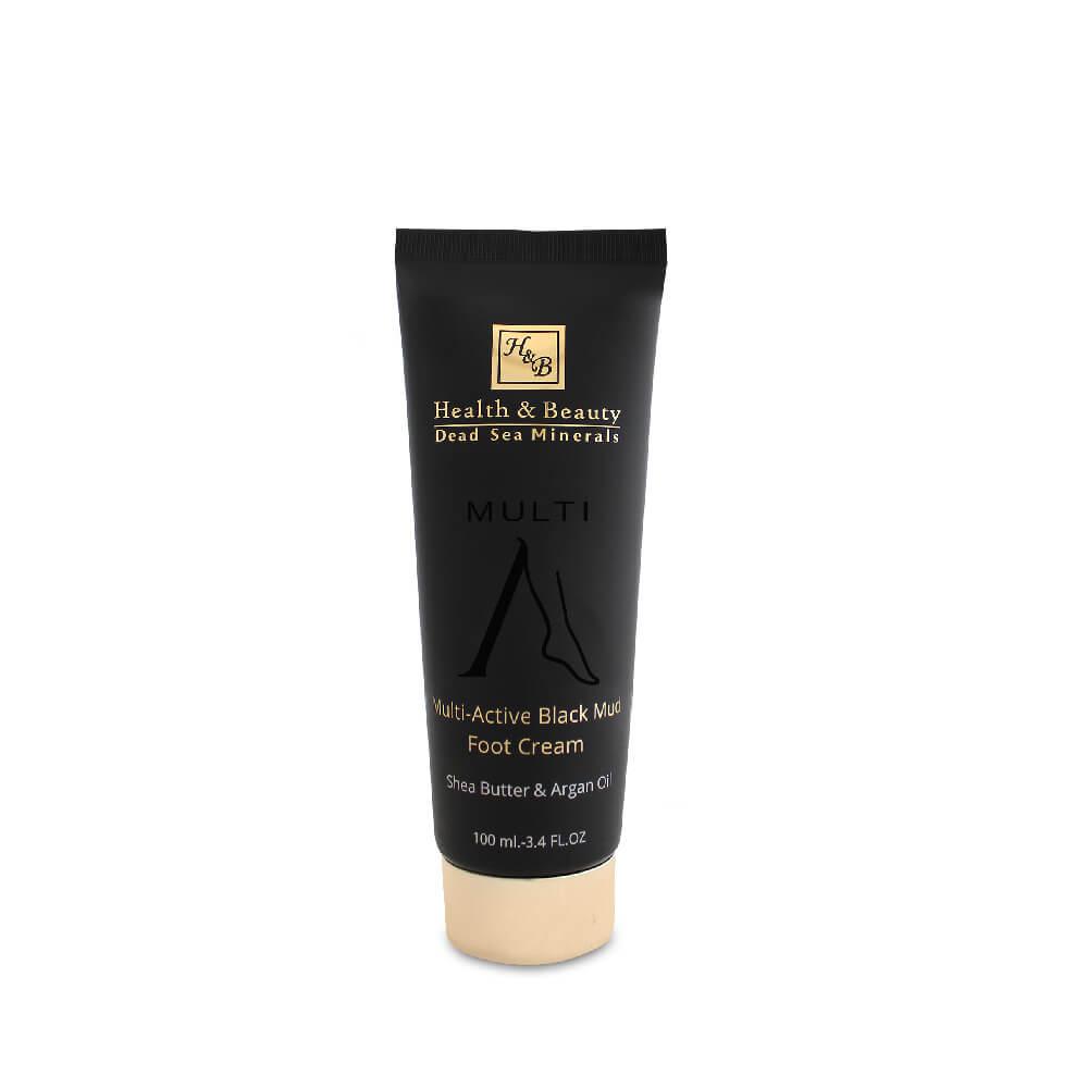 Multi-Active Black Mud Foot Cream