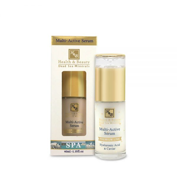 Multi-Active Serum with Hyaluronic acid and Caviar