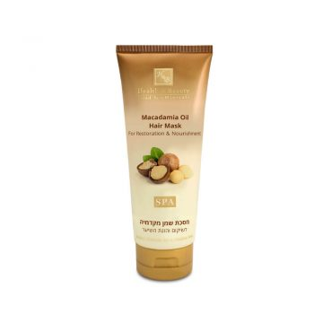 Macadamia Oil Hair Mask for Hair Restoration & Nourishment